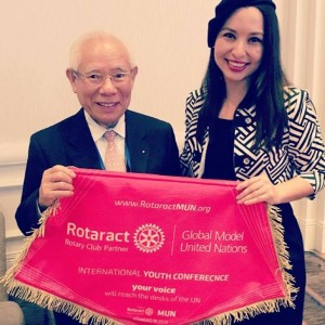 rotaract mun and rotary international