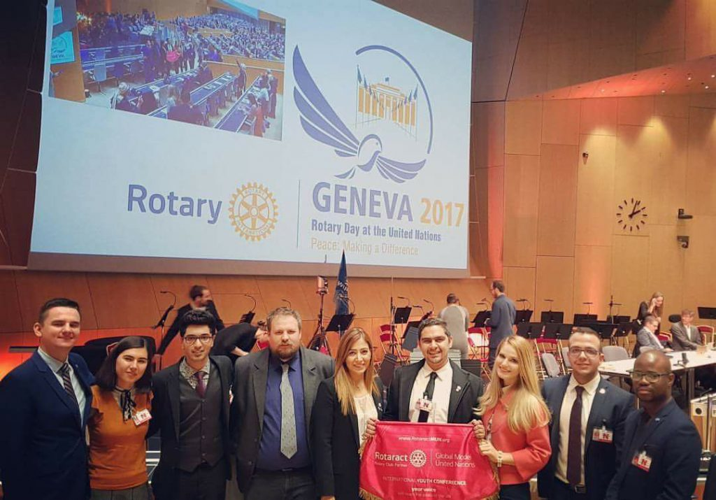 rotaractmun at rotary day at united nations in geneva