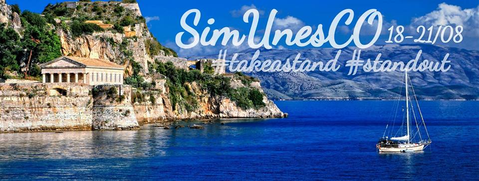 International ModelUN Partnership with SimUnesCO in Corfu, Greece