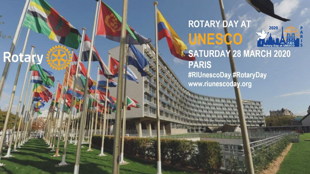 rotary day at UNESCO 2020