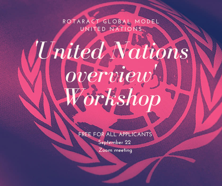 Workshops at 2020 Virtual MiniMUN – international youth conference