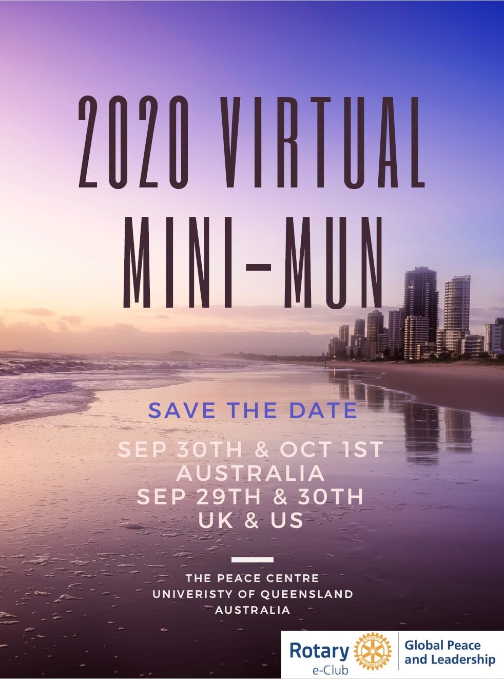 Apply now for 2020 Virtual Mini MUN
